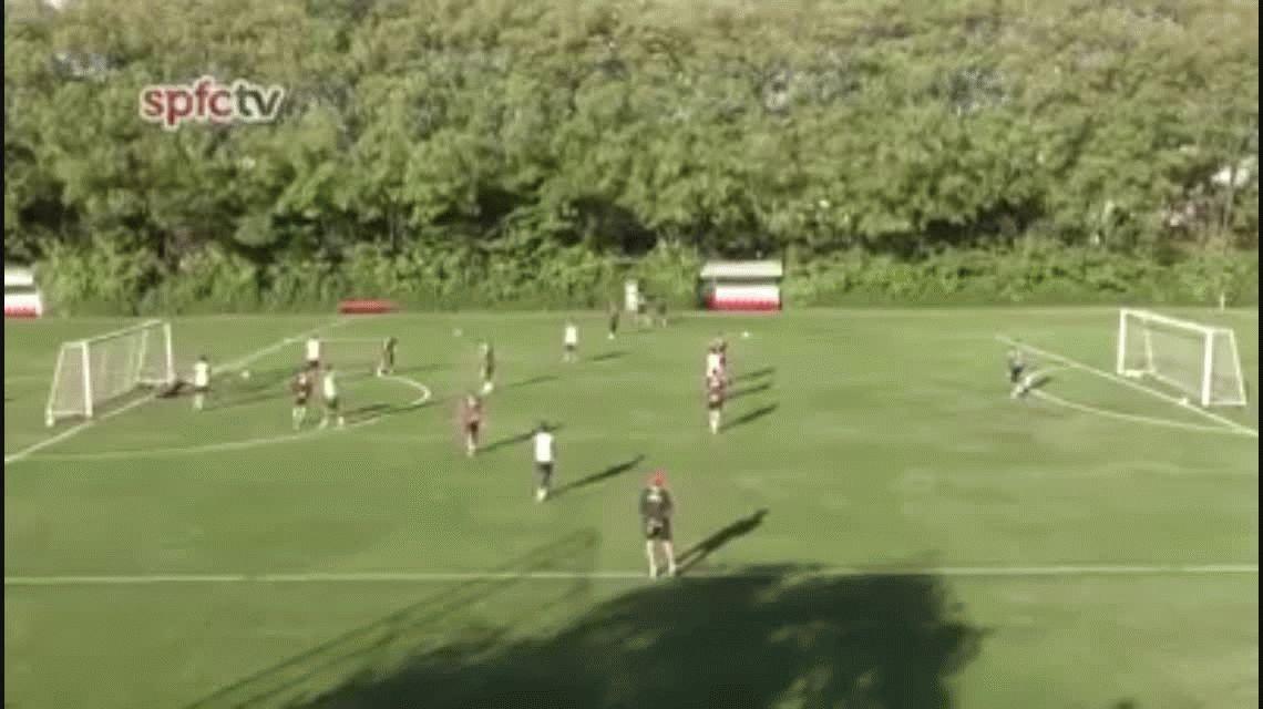 ¿Se olvidó de Boca? Andrés Chávez debutó en el San Pablo con cuatro goles