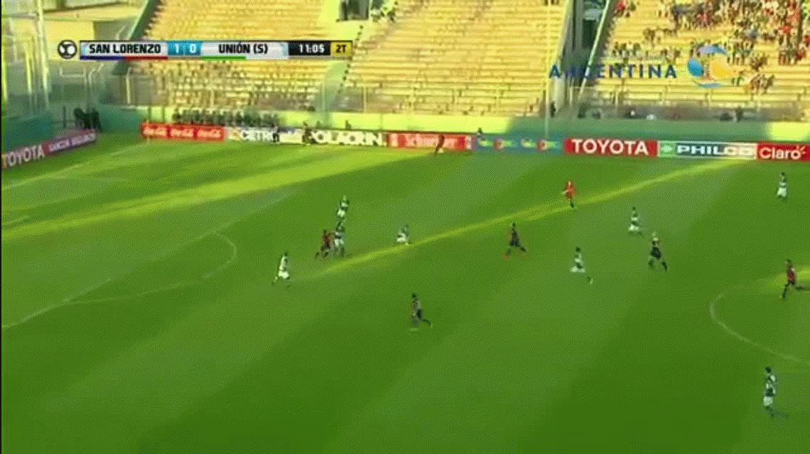 VIDEO: Mirá este golazo de Cauteruccio para San Lorenzo por Copa Argentina
