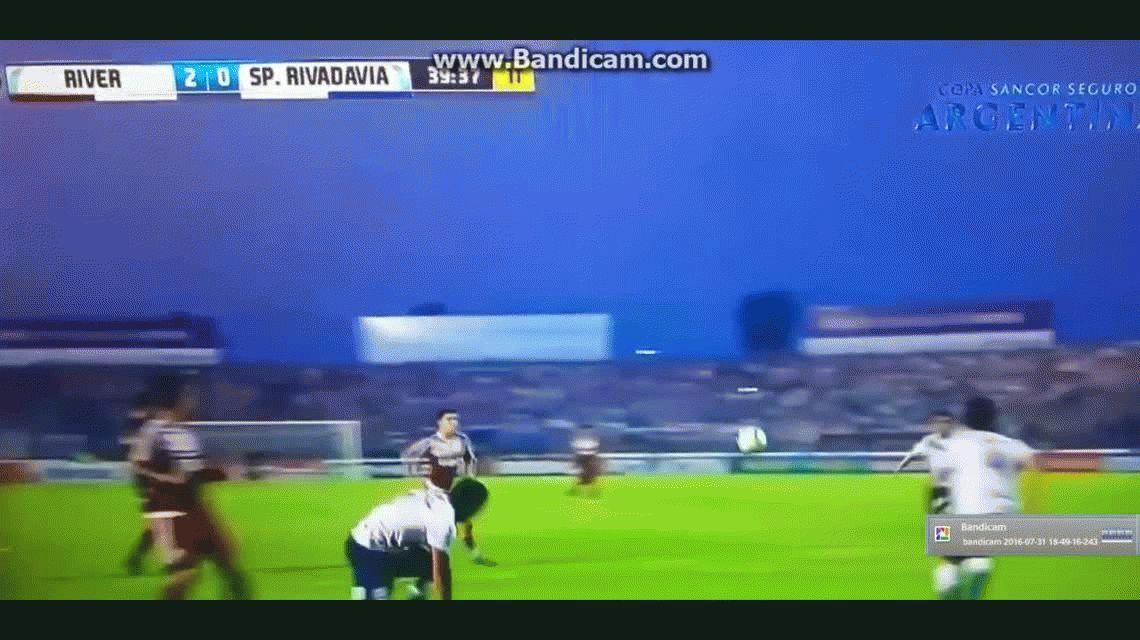 River se lució ante Sportivo Rivadavia y y debutó con goleada en Formosa