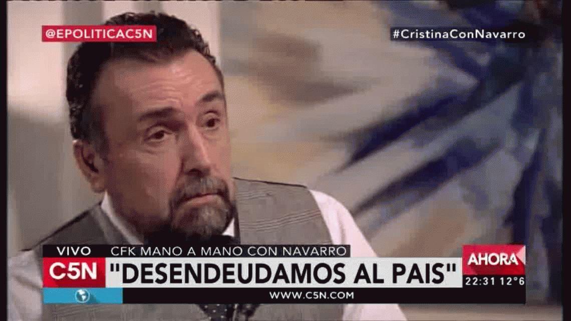Cristina Kirchner sobre José López: Fue traumático, sentí impotencia e indignación