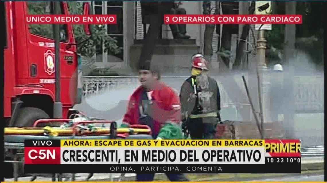 El testimonio de un obrero que ayudó en el escape de gas: Los operarios no respiraban