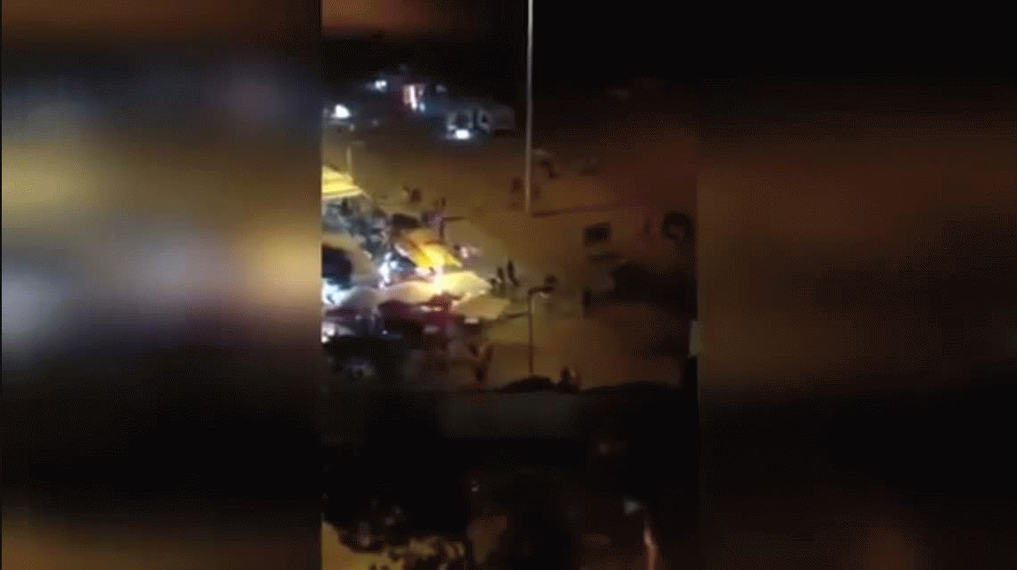VIDEO: Quisieron hacer una broma y la gente creyó que era un atentado
