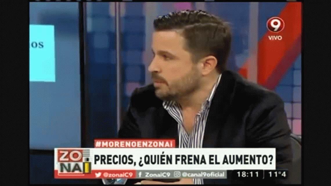 El duro cruce entre Guillermo Moreno y un economista en un programa de TV