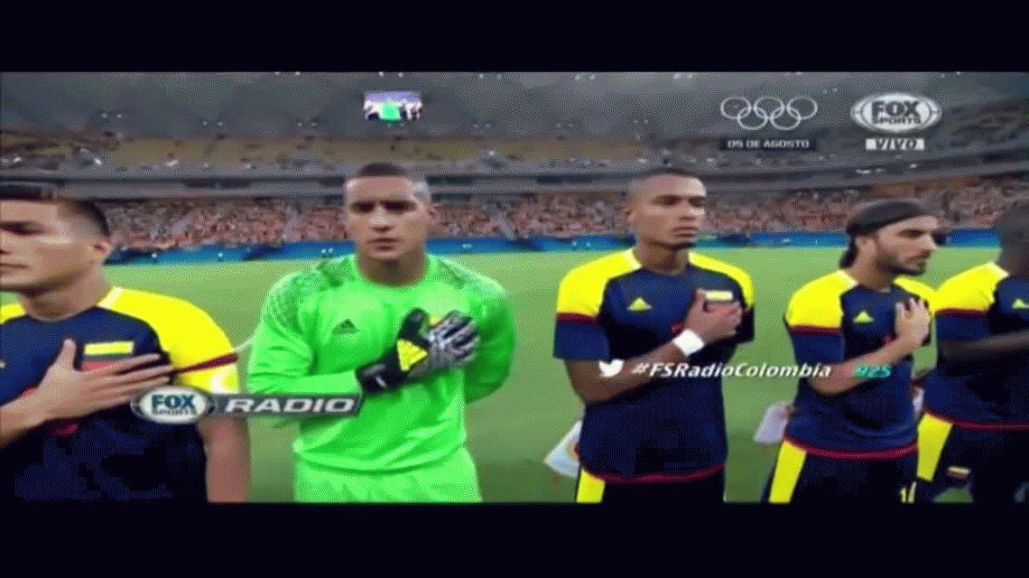 Con un gol de Teo Gutiérrez, Colombia empató en su debut ante Suecia
