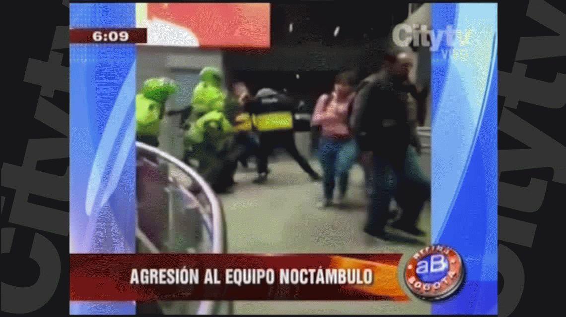 VIDEO: la policía agrede a periodistas en Colombia