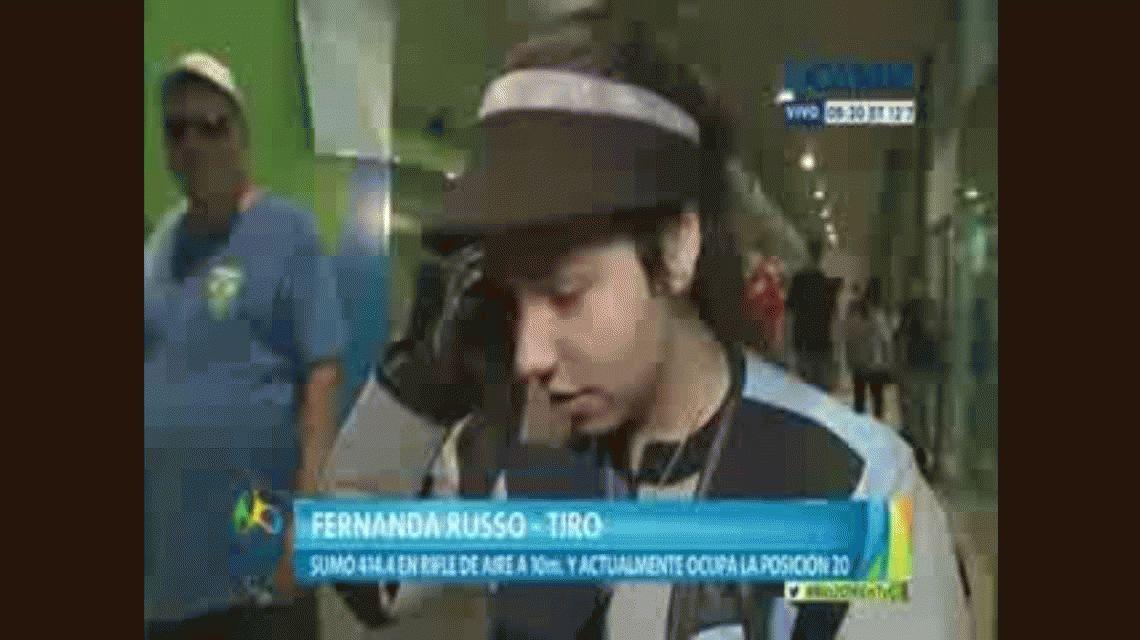 La emoción de la argentina más joven en Río tras su buen debut olímpico