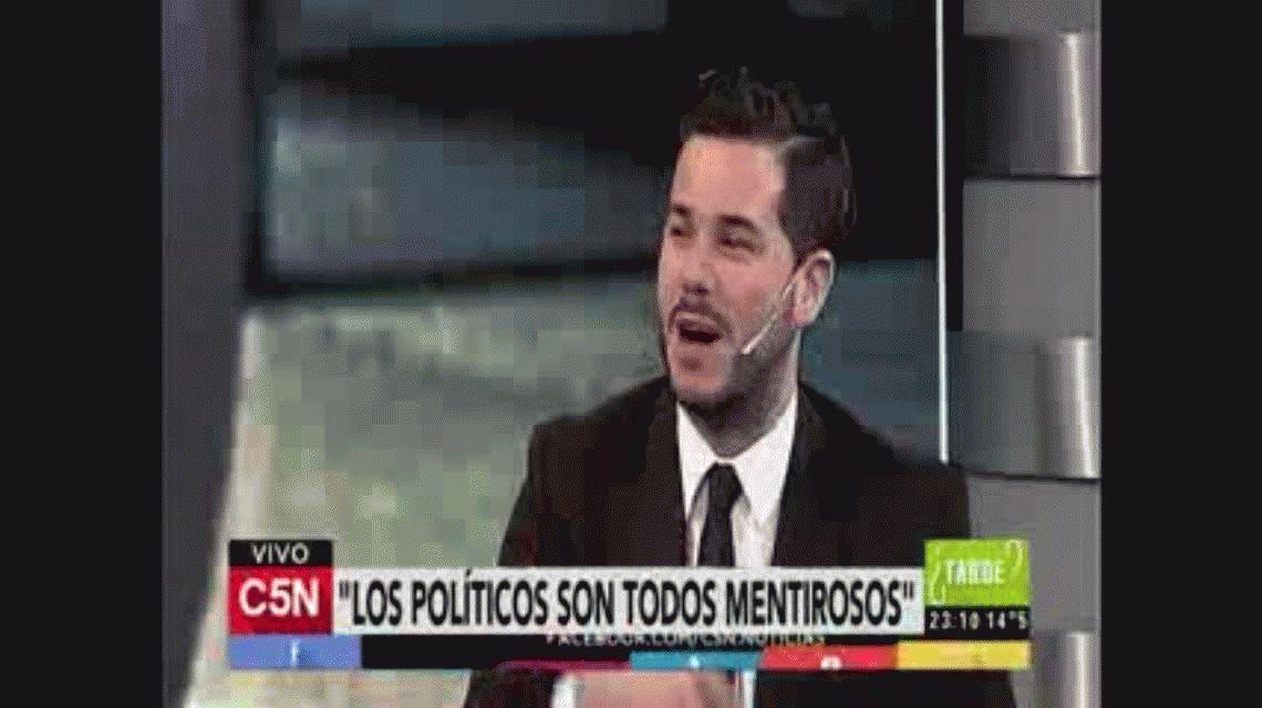 Nazareno rapero: mirá el talento oculto del hijo de Alfredo Casero