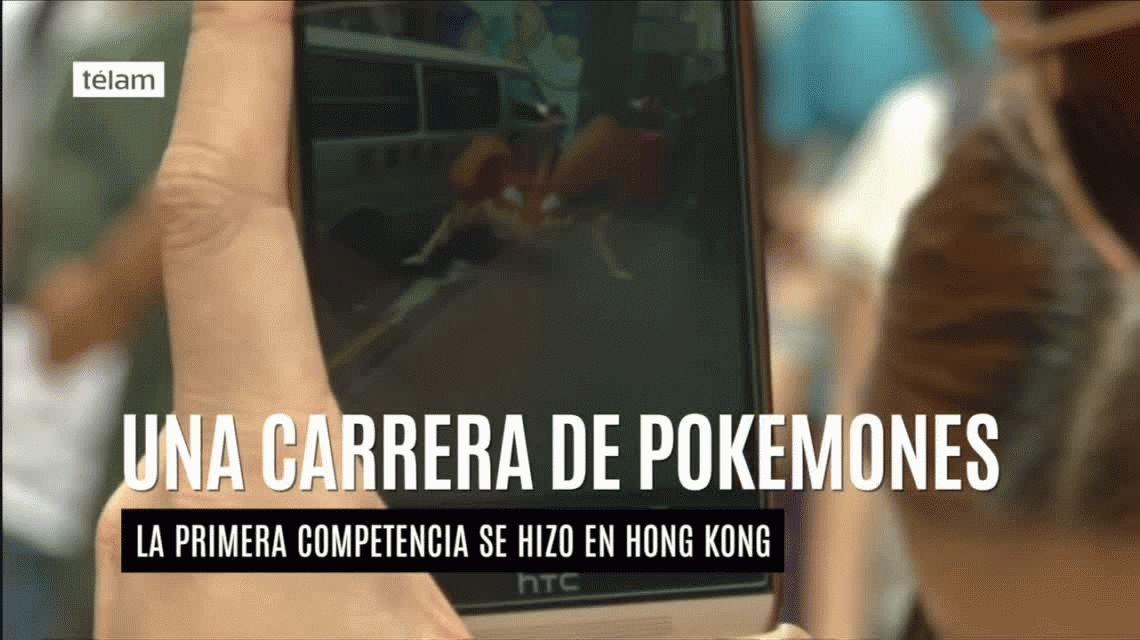 La primera carrera de Pokemones se corrió en Hong Kong