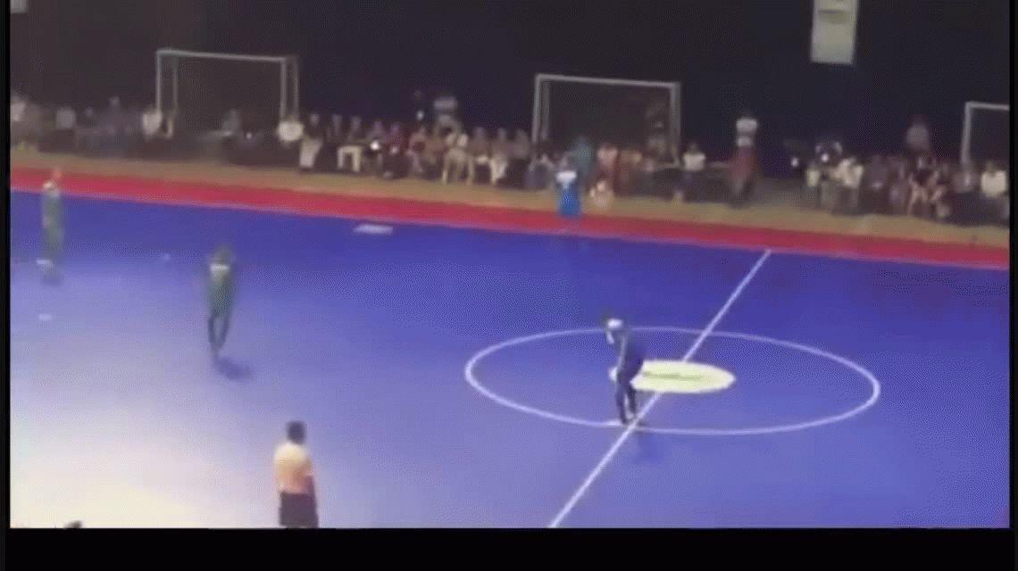 El Maradona del futsal y su doble chilena que cautivó en Brasil