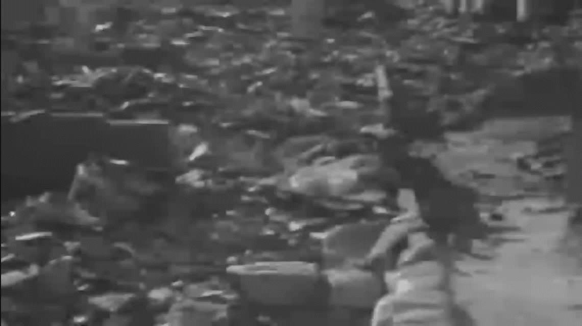 El video inédito que difundió Japón sobre los efectos de Hiroshima