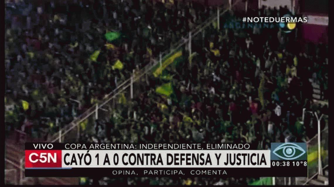 Defensa y Justicia dejó afuera al nuevo Independiente de Gabriel Milito