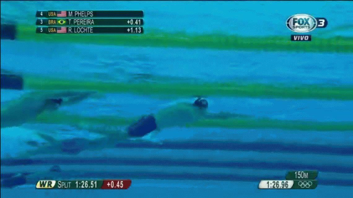 ¡Que viva la natación Michael Phelps! Suma 22 medallas de oro y va por más