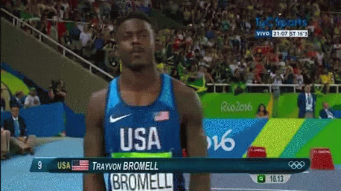 La imagen del día en los Juegos Olímpicos de Río 2016: soberbio papel de Bolt en semifinales
