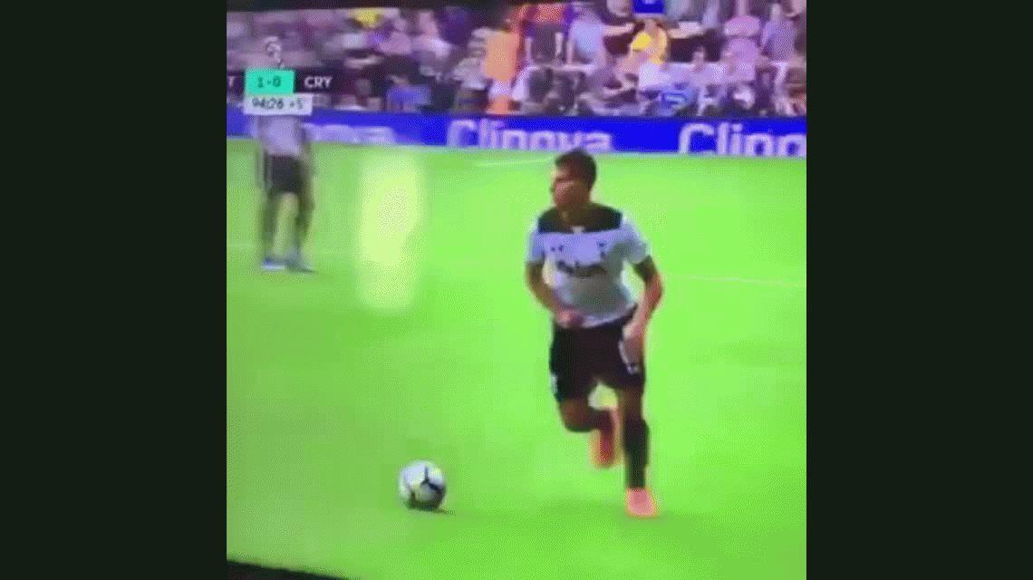 ¡Qué viva el fútbol, Lamela! Mirá el exquisito caño que tiró el jugador del Tottenham