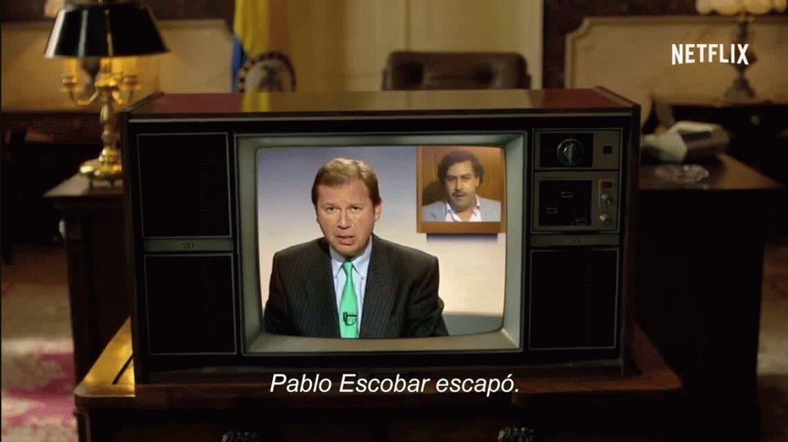 Mirá el nuevo trailer de Narcos, la serie que muestra la vida de Pablo Escobar