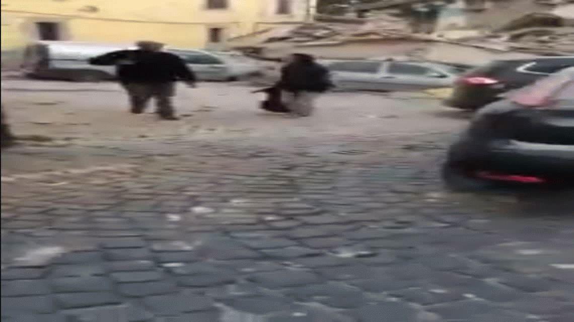 Fuerte terremoto sacude al centro de Italia repercutiendo en Roma y en el Vaticano