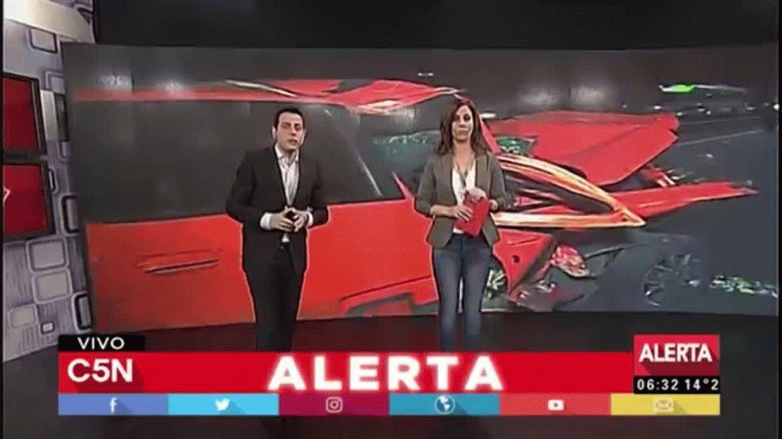 Tragedia en la Perito Moreno: una mujer perdió el control de su auto, chocó y murió