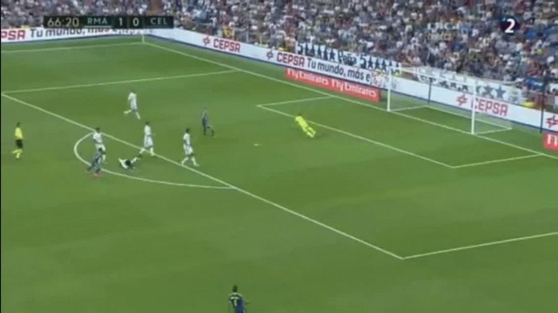 Real Madrid sufrió pero igual derrotó al Celta en el Santiago Bernabéu