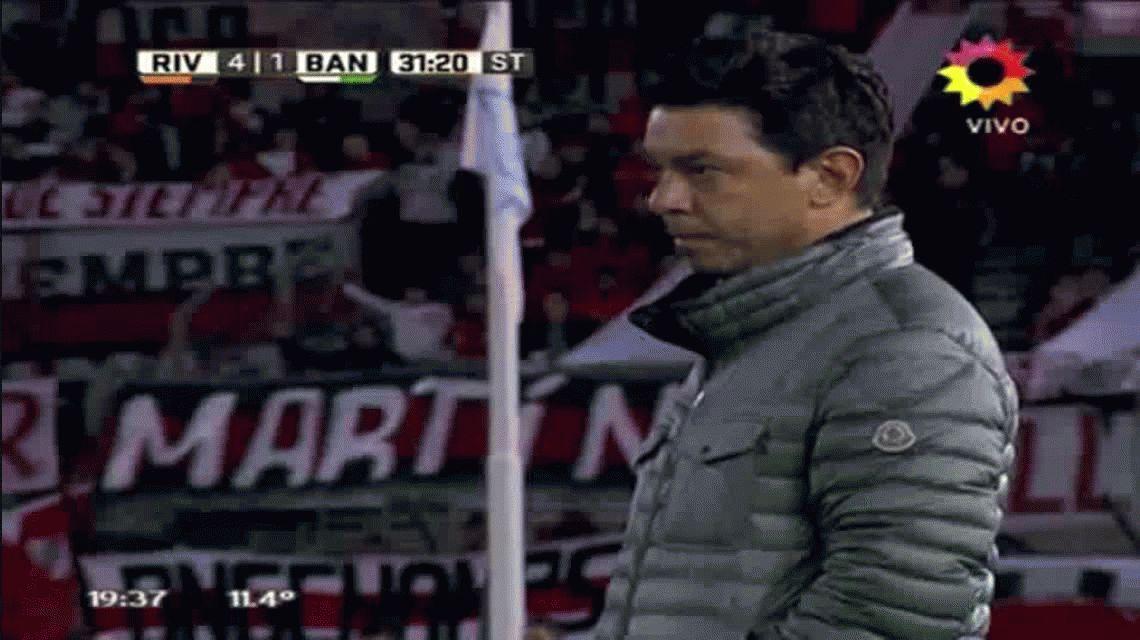 DAlessandro se enojó con Marcelo Gallardo: Siempre me sacás a mí