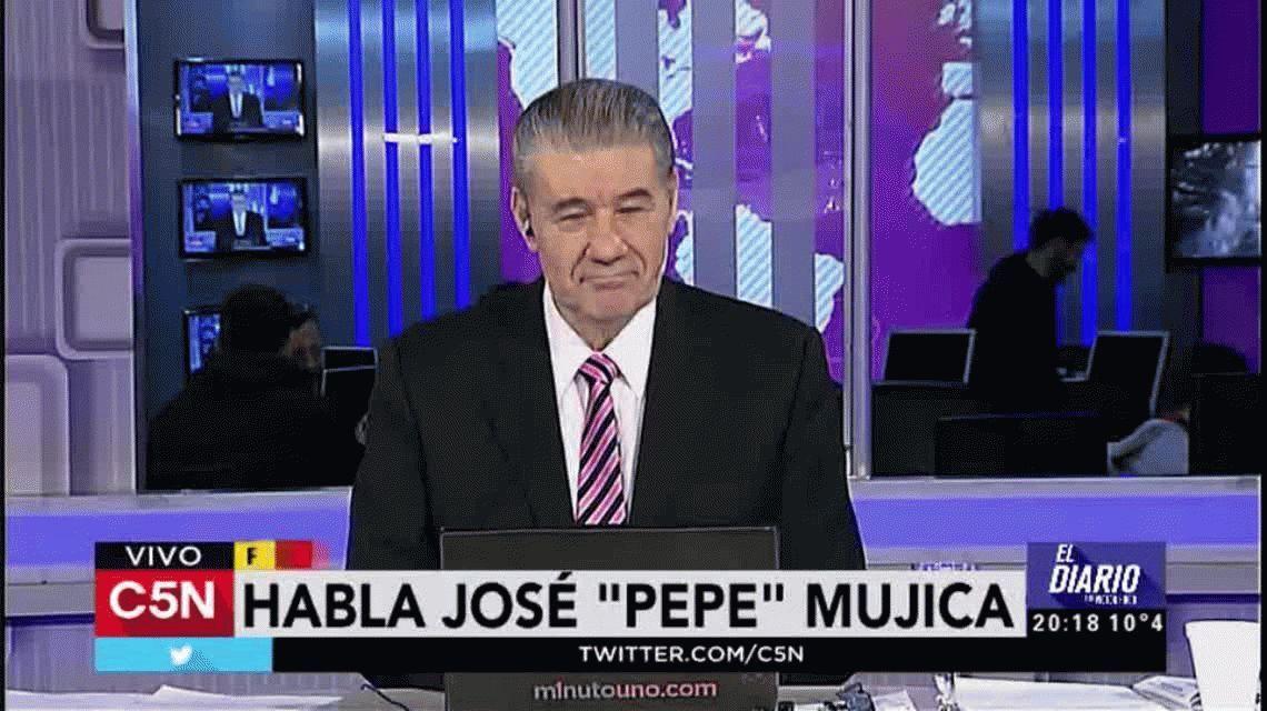 Mujica sobre la crisis en Venezuela: Se meten demasiado de afuera y no son de palo, son más bien de garrote