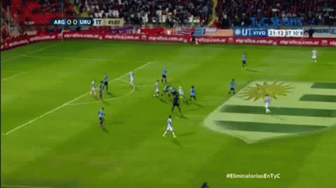 VIDEO: Así fue el primer gol de la Argentina con Edgardo Bauza como DT