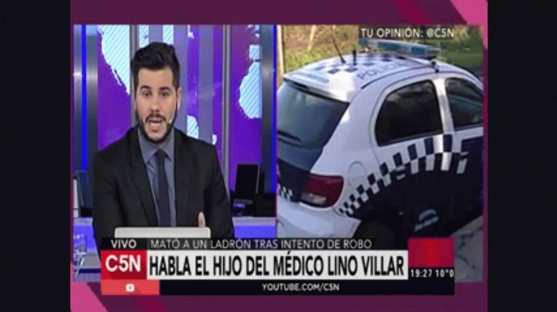 Habló la esposa del médico Lino Villar: Nosotros también estamos muertos