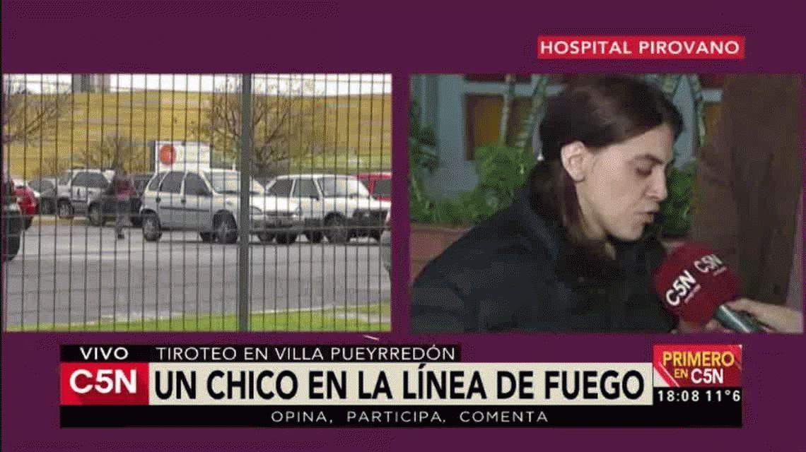 Villa Pueyrredón: un chico de 14 años salía de hacer las compras, quedó en medio de un tiroteo y fue baleado