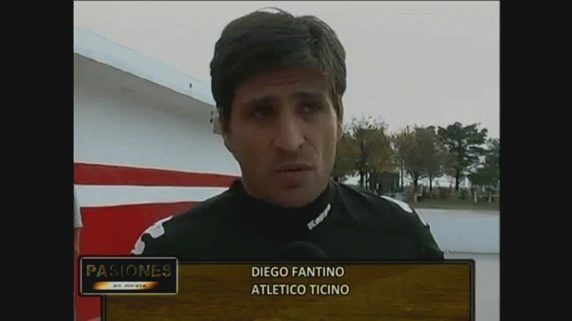 Córdoba: el arquero Diego Fantino fue detenido por pegarle a su ex