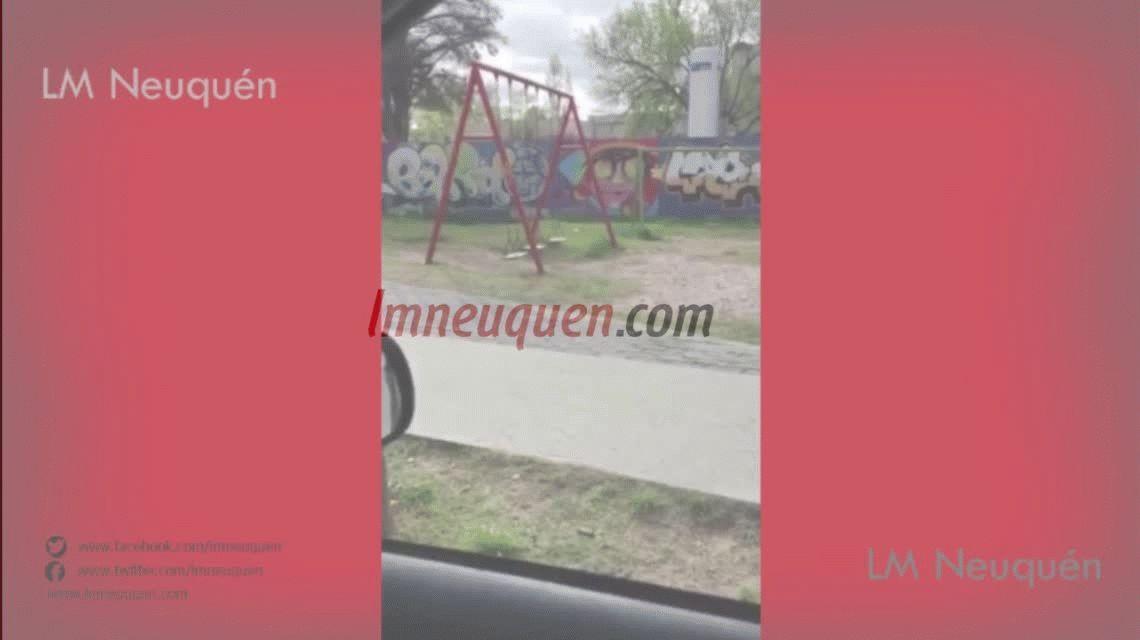 VIDEO: Misterio en Neuquén por la hamaca fantasma que se mueve sola