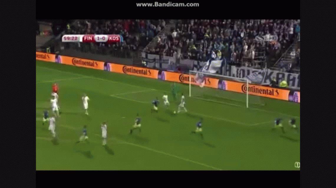Kosovo debutó como miembro FIFA y anotó el primer gol de su historia