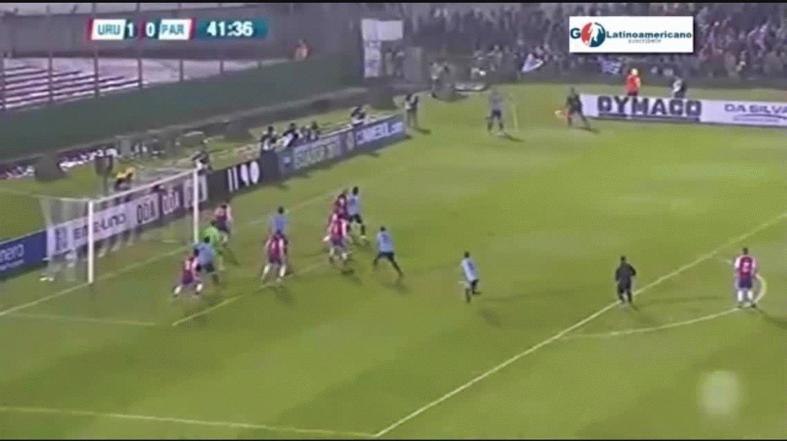 Uruguay goleó a Paraguay en Montevideo