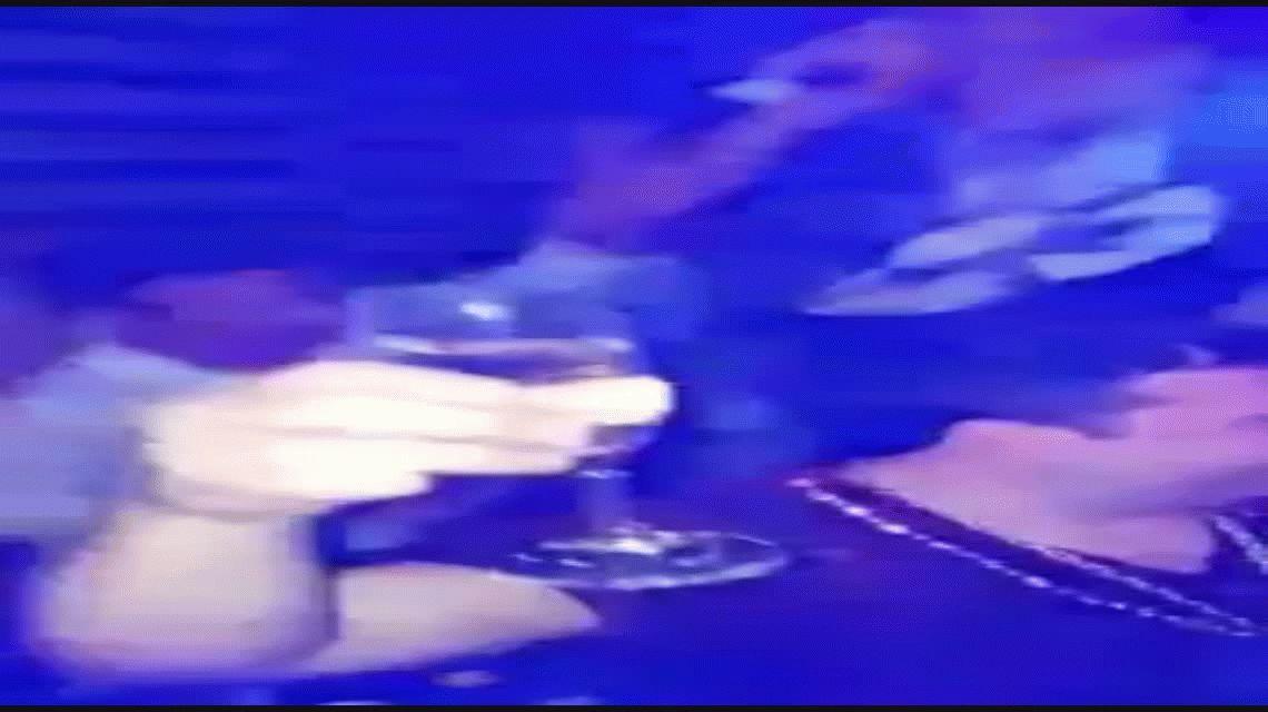 En medio del escándalo por el choque se filtra un video de Centurión alcoholizado en boliche