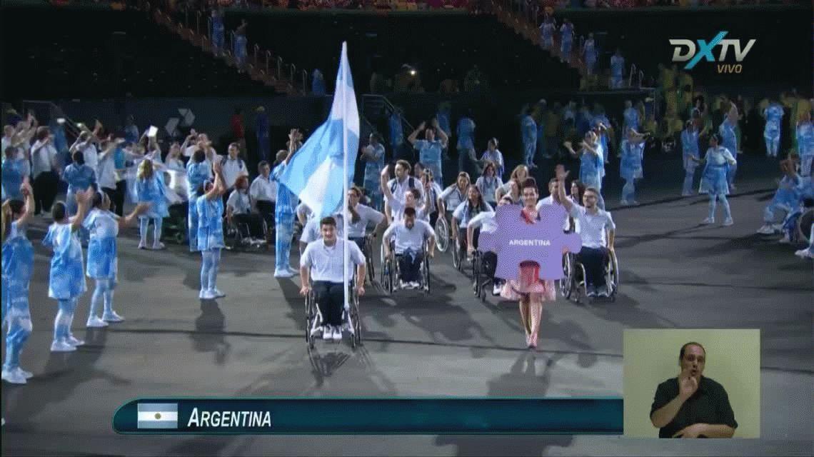 Ceremonia de apertura del otro Río 2016: los Juegos Paralímpicos