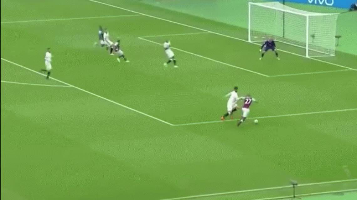 El gol del fin de semana: la exquisita rabona de Payet en la Premier League