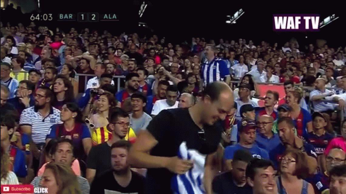 Luis Enrique guardó titulares y el Barça cayó ante el Alavés de Pellegrino