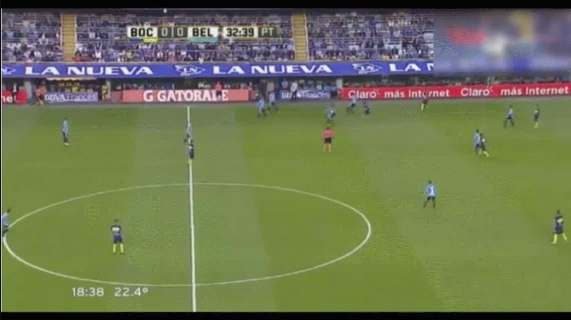 Boca goleó a Belgrano en su primera victoria del campeonato