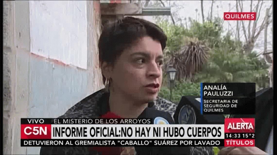 Papelón: no eran ocho los muertos hallados en los arroyos de Quilmes