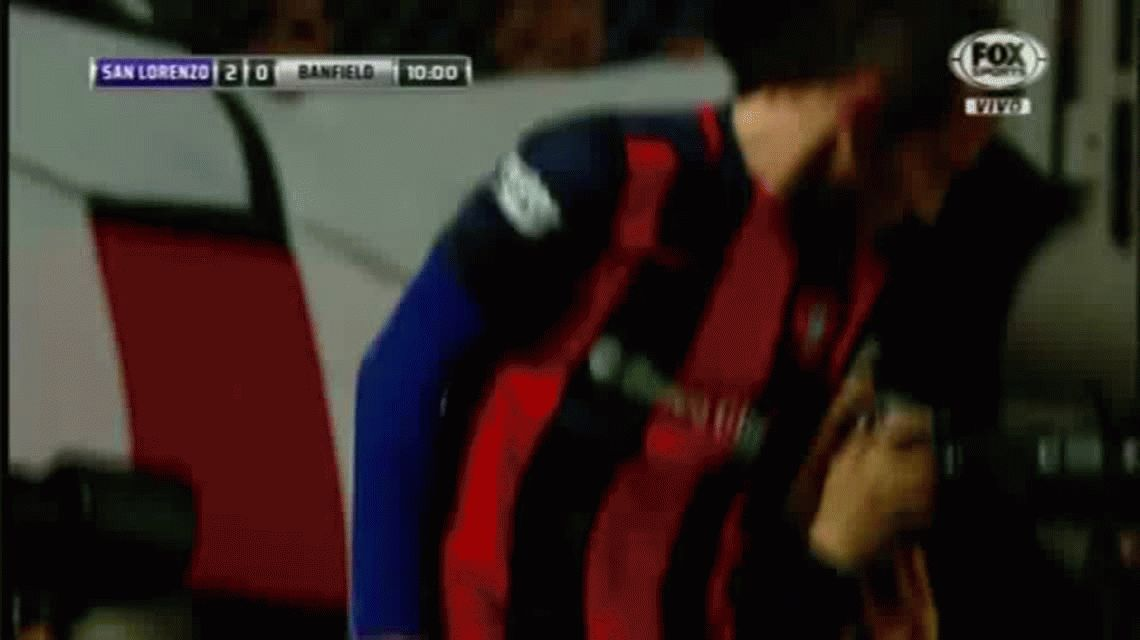 Torrico tapó un penal sobre el final y San Lorenzo eliminó a Banfield
