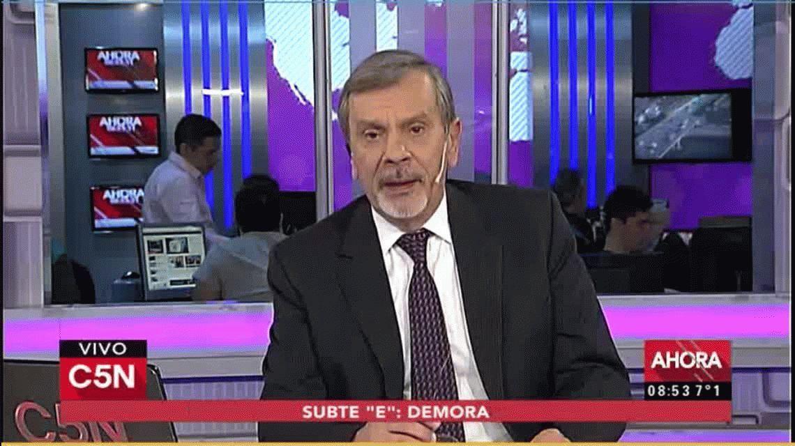 ¡Yegua, guanaca!: el agresivo militante que Michetti designó en el Senado