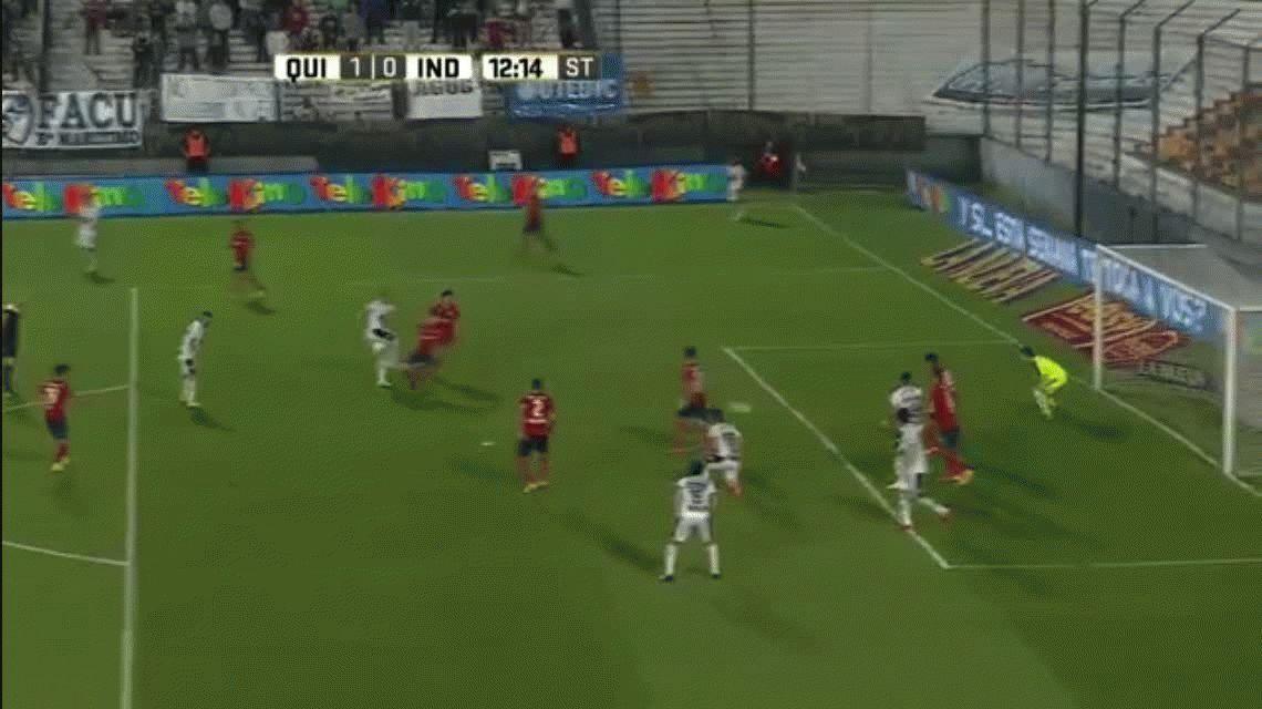 Quilmes e Independiente no se sacaron ventajas en el Sur