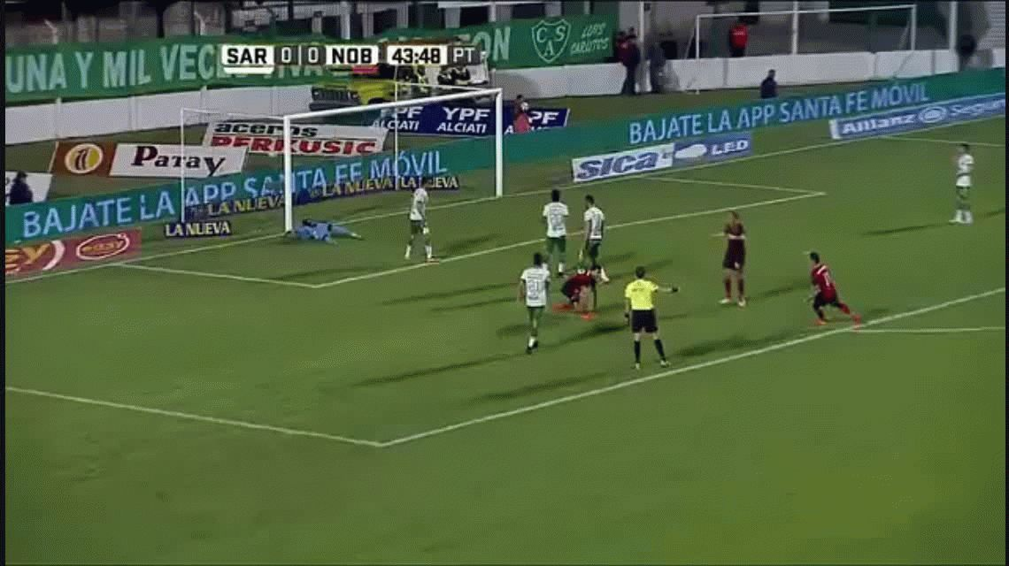 Sarmiento se lo empató a Newells en Junín