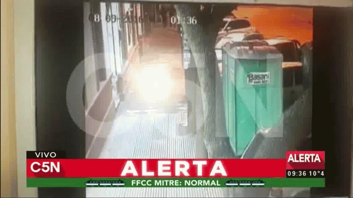 VIDEO: Así fue la escandalosa fuga de tres presos en una comisaría de Monte Grande