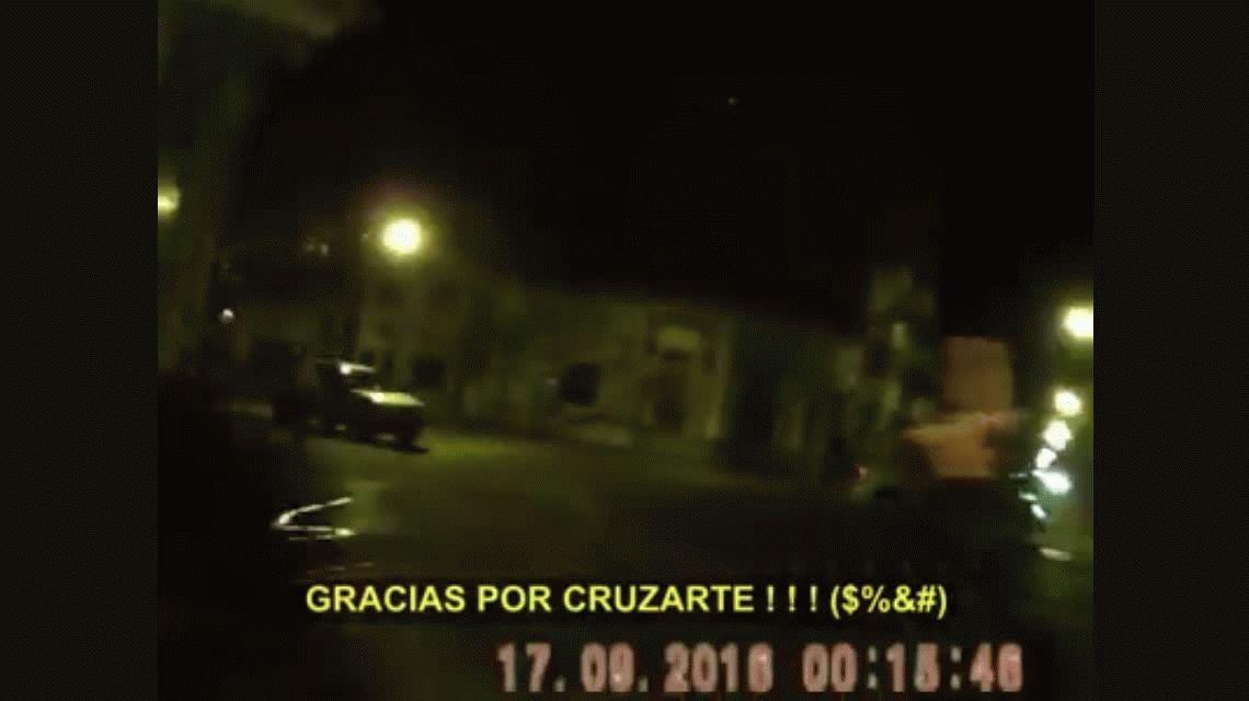 VIDEO: La dramática persecución para detener a un ladrón de autos