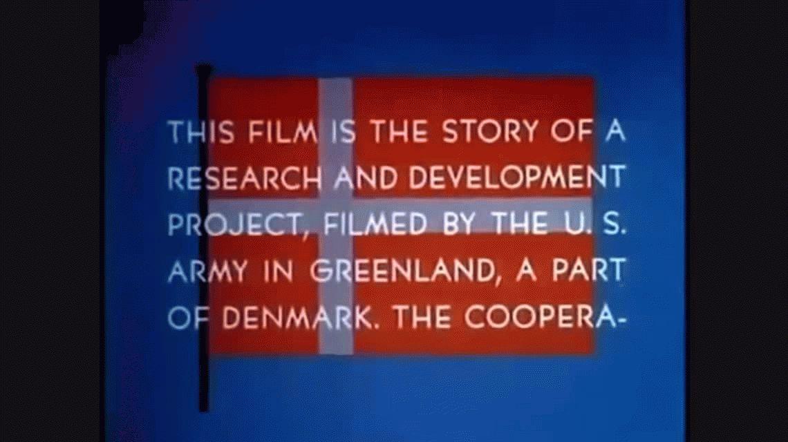 Descubren una base secreta estadounidense en Groenlandia por el calentamiento global