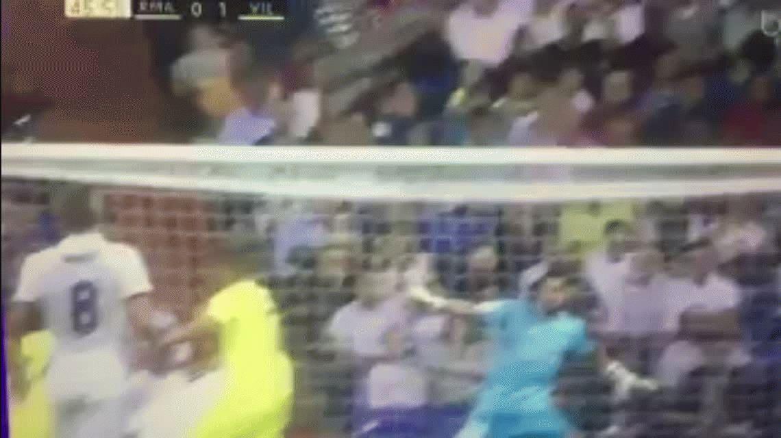 El jugador que canchereó ante Real Madrid y silenció al Bernabeu
