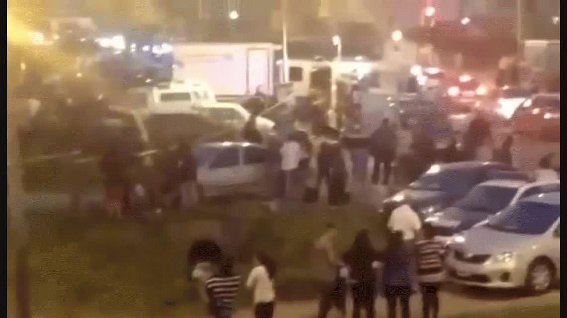 Castelar: dos motochorros muertos tras enfrentarse con policía de civil