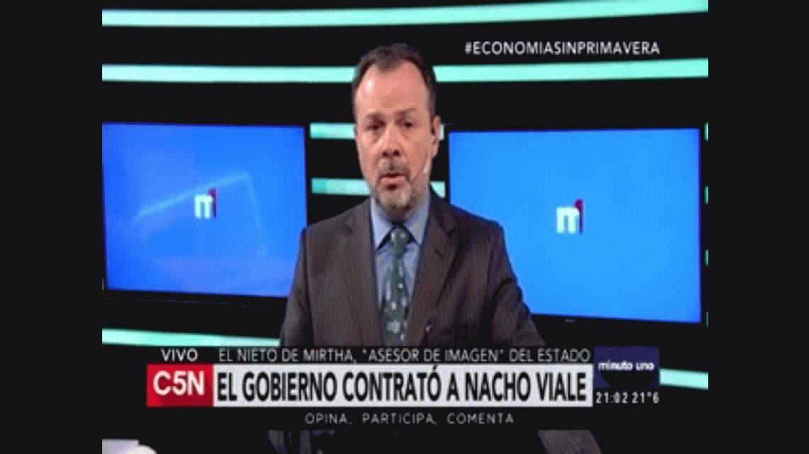 Escandalosa contratación: Nacho Viale, asesor del Estado por $1,5 millones