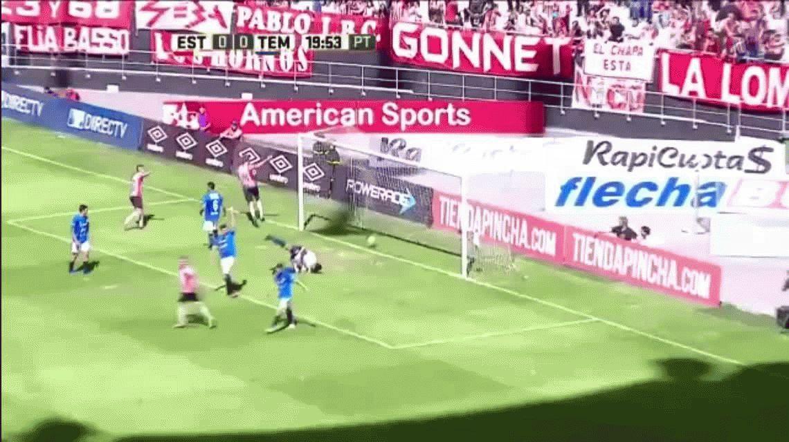 Imparable: Estudiantes goleó a Temperley y sigue solo en lo más alto