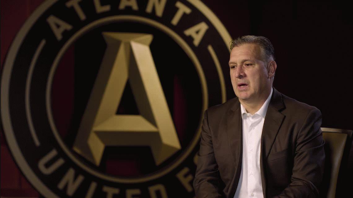 Tras firmar con Atlanta United, Martino habló sus primeras palabras en inglés
