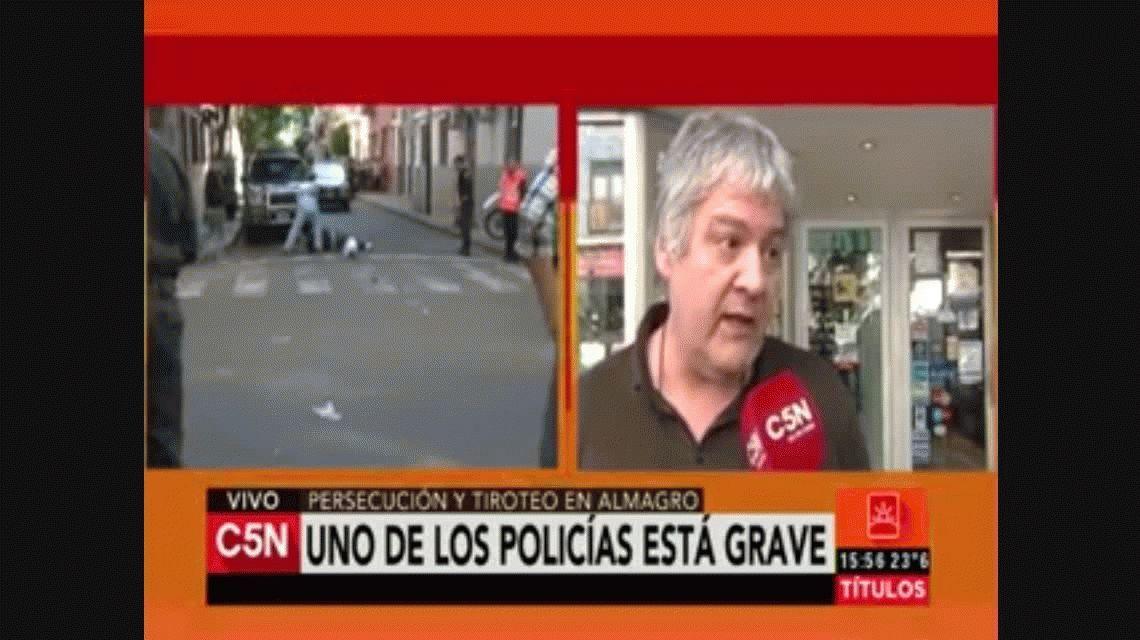 Dos tiroteos en plena Ciudad a sólo 15 cuadras de diferencia: hay un policía grave